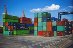 Containers presso terminal
