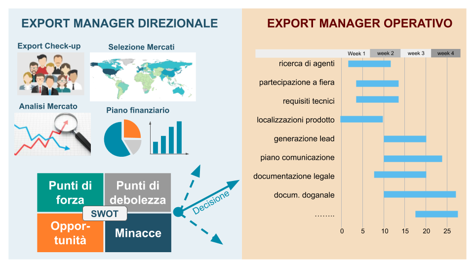 Competenze Export Manager